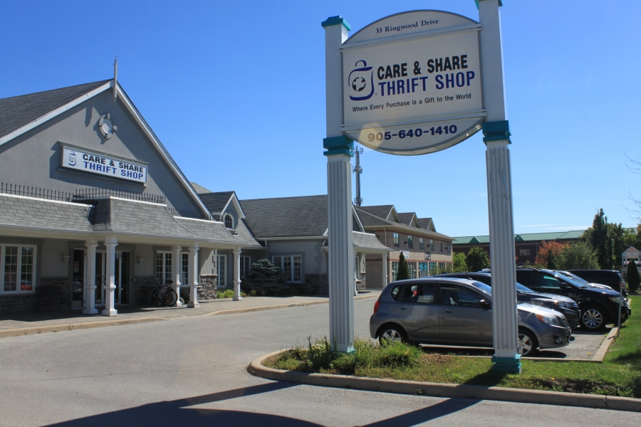 Stouffville Care and Share Thrift Shop - Home